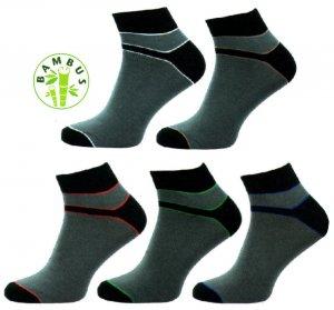 79214cc6f4d 1030 A Pánské ponožky bambus vyšší lem