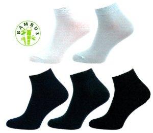 f604dedfb0f 1030 B Ponožky bambus vyšší lem